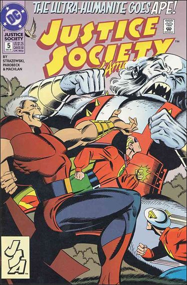 Justice Society of America (1992) 5-A by DC