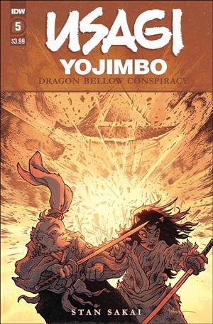 Usagi Yojimbo: Dragon Bellow Conspiracy 5-A