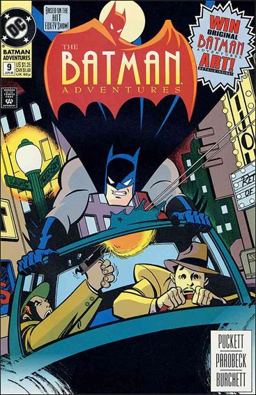 Batman Adventures (1992) 9-A by DC