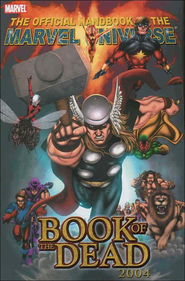 Official Handbook of the Marvel Universe: Book of the Dead 2004 nn-A by Marvel