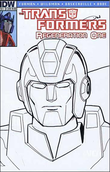 Transformers: Regeneration One 81-D by IDW