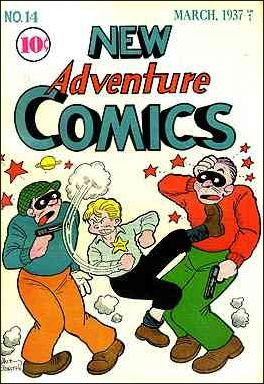 New Adventure Comics 14-A by DC