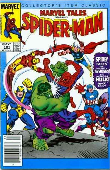 Marvel Tales (1966) 181-A by Marvel
