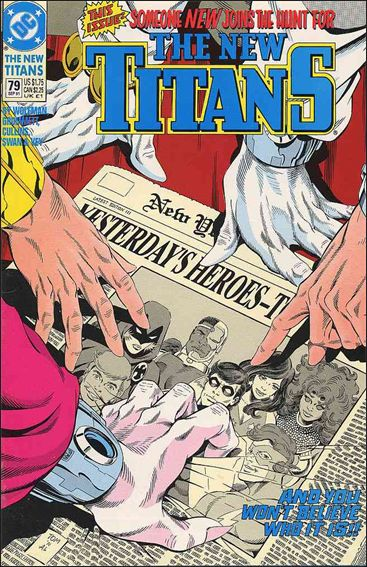 New Titans 79-A by DC