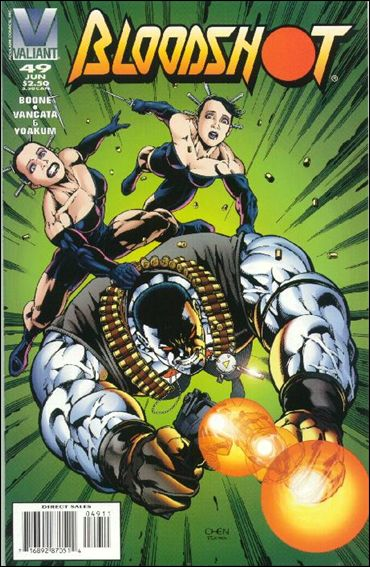 Bloodshot (1993) 49-A by Valiant