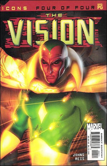 Avengers Icons: The Vision 4-A by Marvel