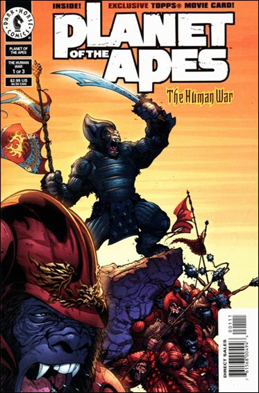 Planet of the Apes (2001/06) 1-A by Dark Horse