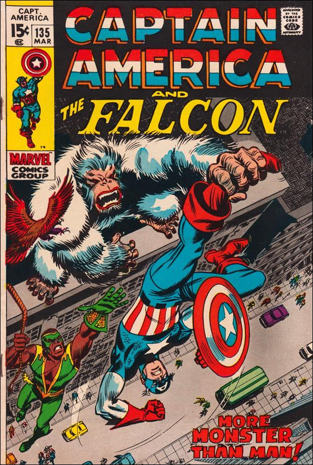 Captain America (1968) 135-A by Marvel