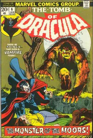 Tomb of Dracula (1972) 6-A by Marvel