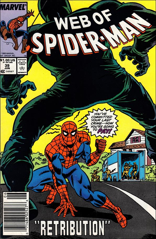 Web of Spider-Man (1985) 39-A by Marvel
