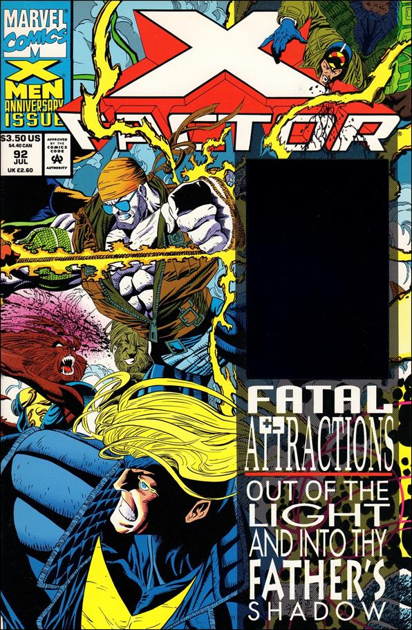 X-Factor (1986) 92-A by Marvel