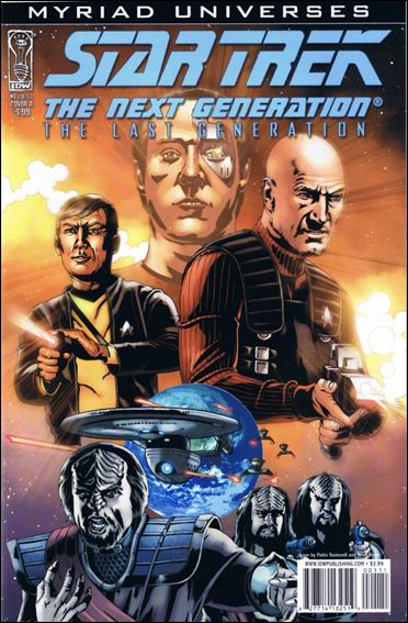 Star Trek: The Next Generation: The Last Generation 1-A by IDW