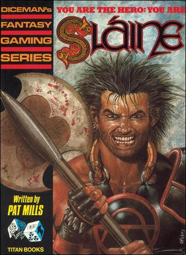 Sláine Gaming Book 1-A by Titan