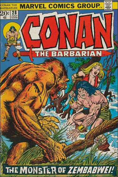 Conan the Barbarian (1970) 28-A by Marvel
