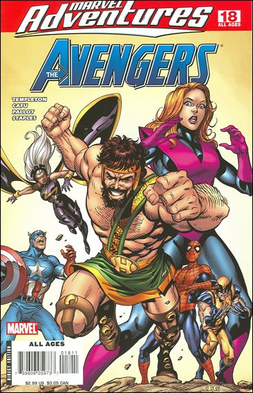 Marvel Adventures The Avengers 18-A by Marvel