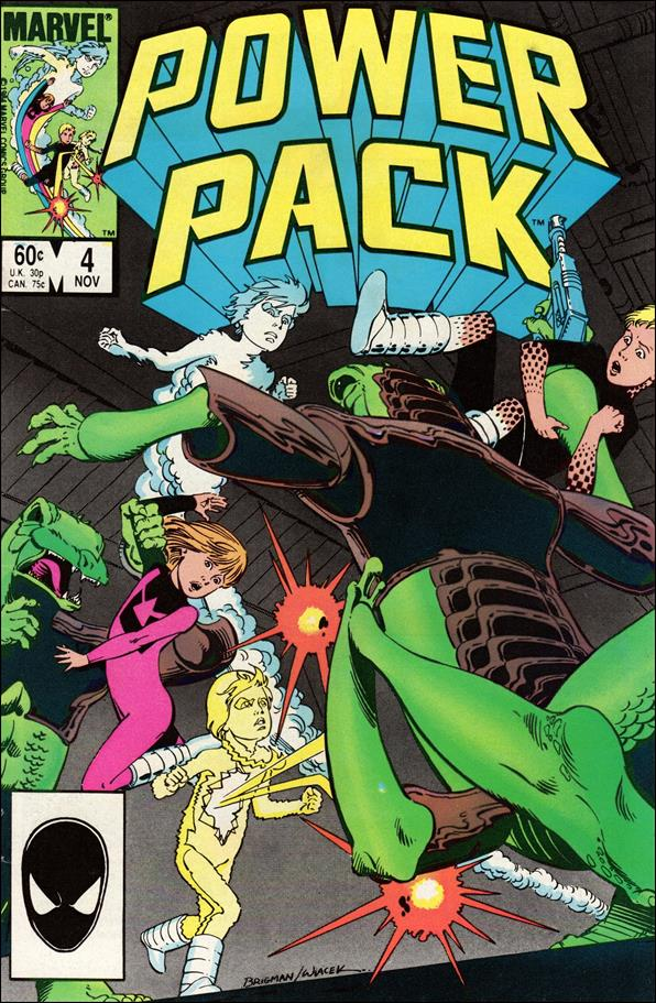 Power Pack (1984) 4-A by Marvel