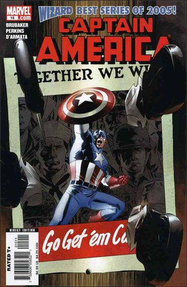 Captain America (2005) 15-A by Marvel