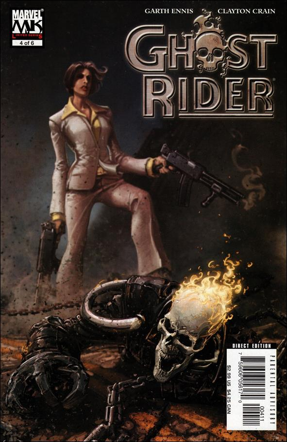 Ghost Rider (2005) 4-A by Marvel