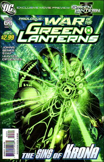 Green Lantern (2005) 63-B by DC