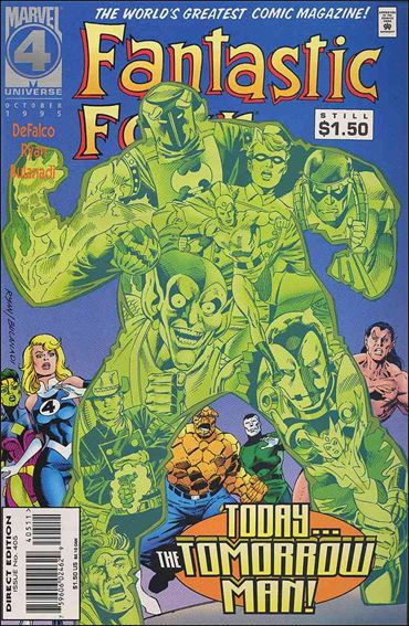 Fantastic Four (1961) 405-A by Marvel