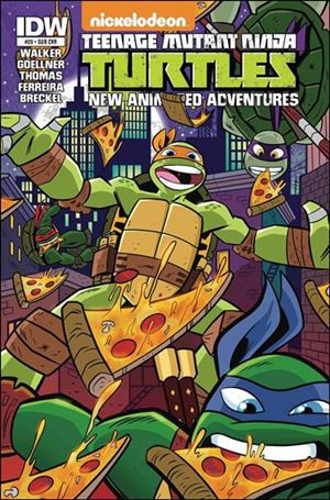 Teenage Mutant Ninja Turtles New Animated Adventures 20-B