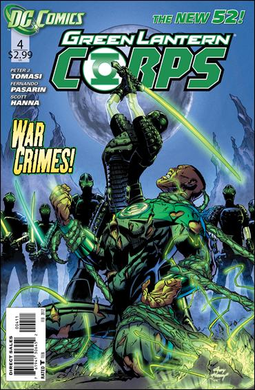 Green Lantern Corps (2011) 4-A by DC