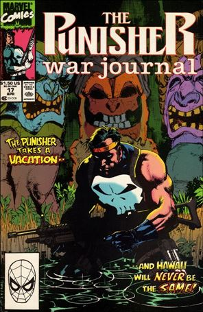 Punisher War Journal (1988) 17-A