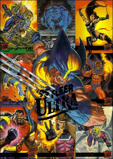1995 Fleer Ultra X-Men (Promo) NN 3-B by Fleer
