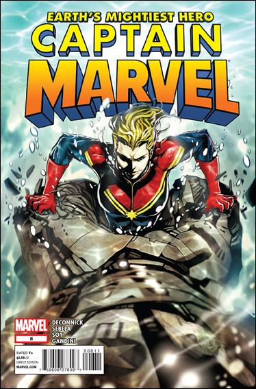 Captain Marvel (2012) 8-A by Marvel