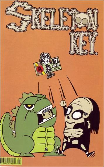 Skeleton Key (1995) 7-A by Amaze Ink