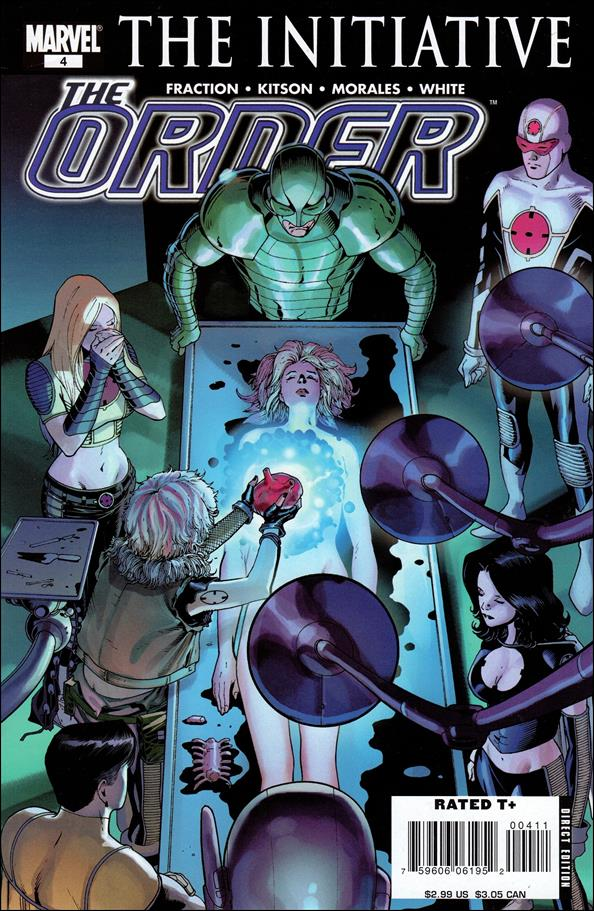 Order (2007) 4-A by Marvel