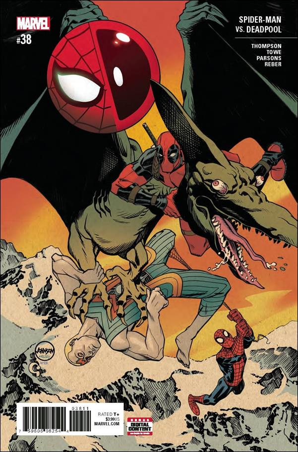 Spider-Man/Deadpool 38-A by Marvel