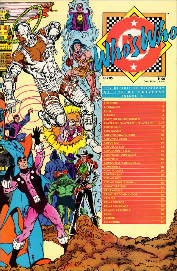 Who's Who: The Definitive Directory of the DC Universe 5-A by DC