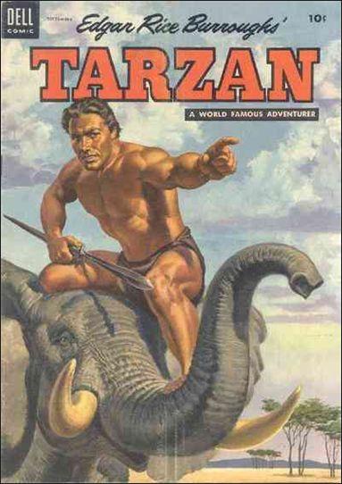 Tarzan (1948) 60-A by Dell