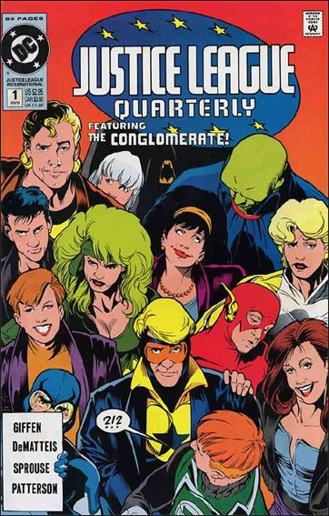 Justice League Quarterly 1-A by DC