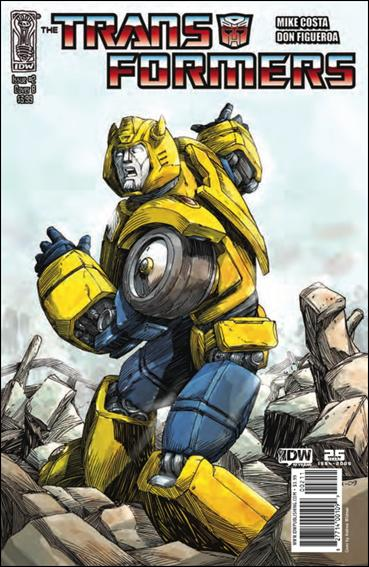 Transformers (2009) 2-B by IDW