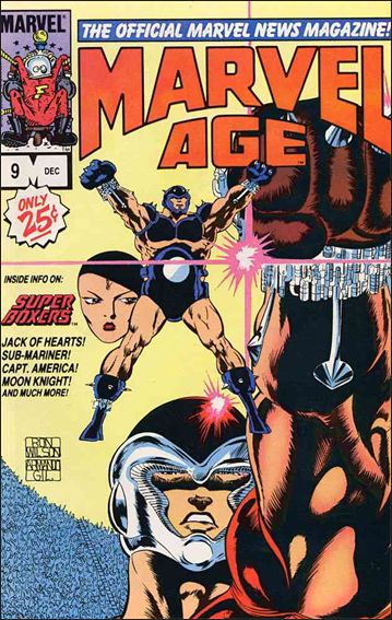 Marvel Age 9-A by Marvel