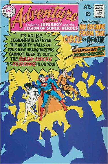 Adventure Comics (1938) 367-A by DC