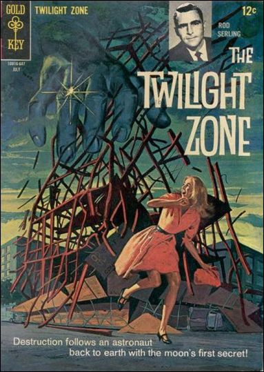 Twilight Zone (1962) 16-A by Gold Key