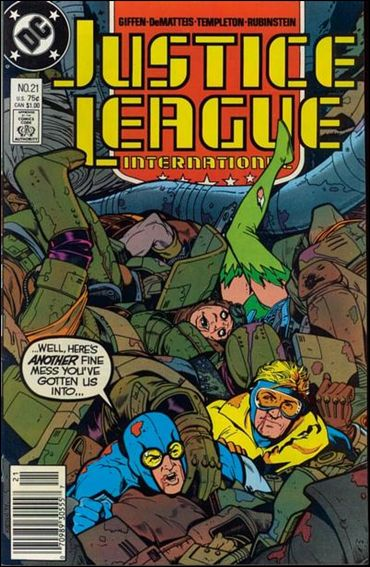 Justice League International (1987) 21-A by DC