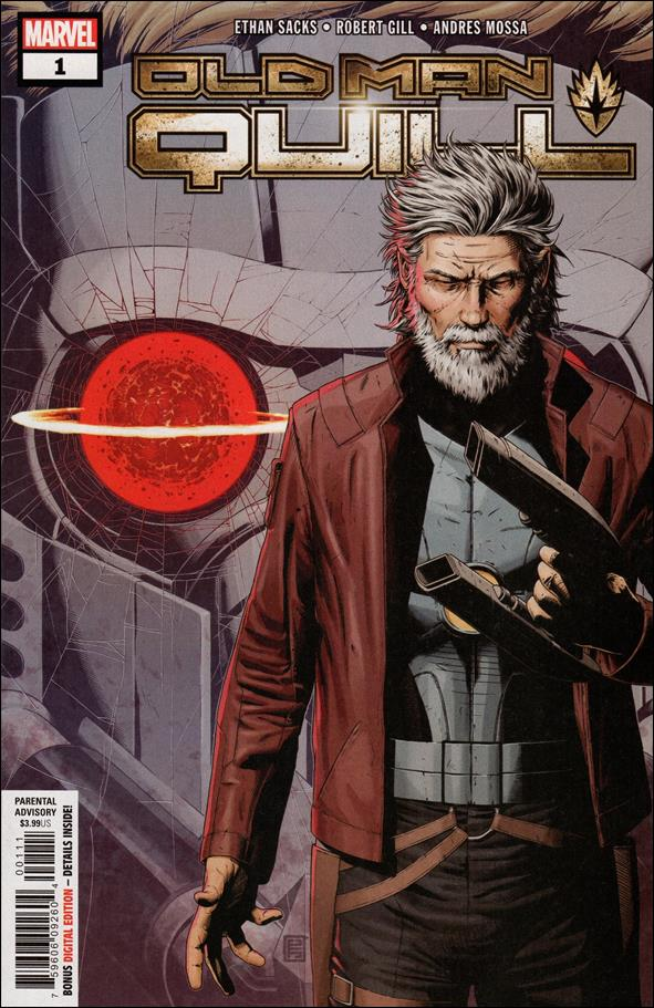 Old Man Quill 1-A by Marvel