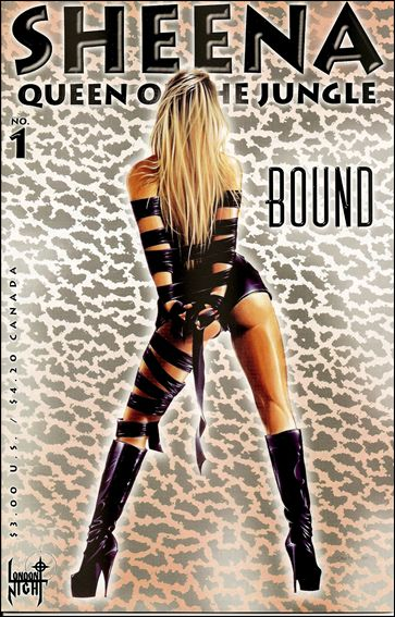 Sheena Queen of the Jungle: Bound 1-A by London Night