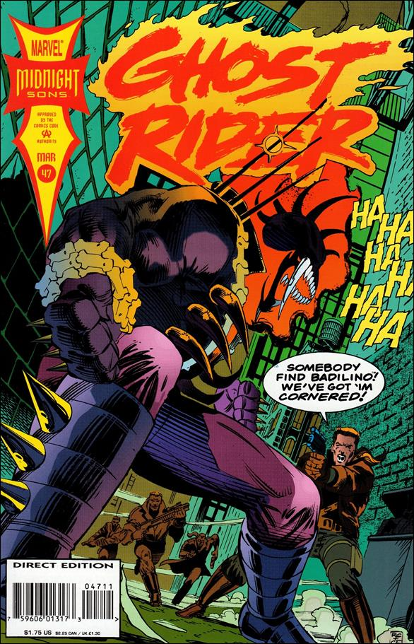 Ghost Rider (1990) 47-A by Marvel