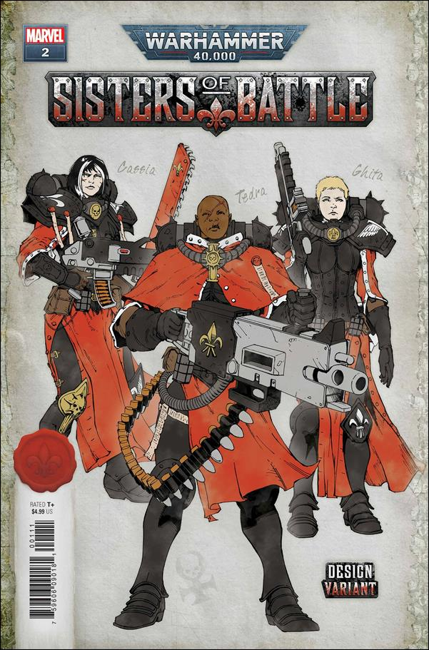 Warhammer 40,000: Sisters of Battle 2-C by Marvel