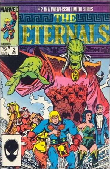 Eternals (1985) 2-A by Marvel