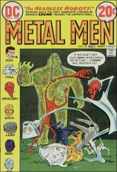 Metal Men (1963) 43-A by DC