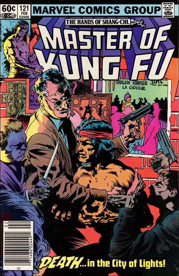 Master of Kung Fu 121-A by Marvel