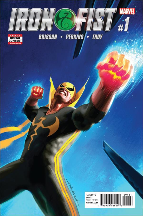 Iron Fist (2017) 1-A by Marvel