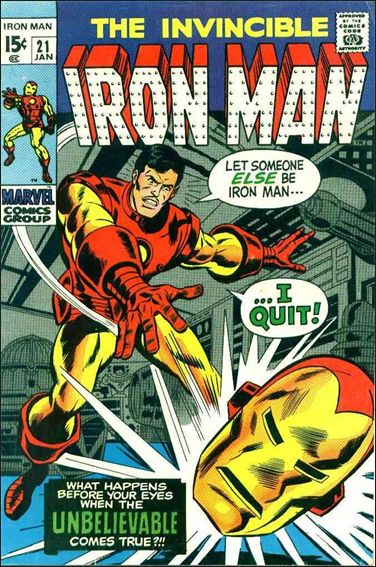 Iron Man (1968) 21-A by Marvel