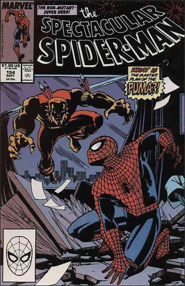 Spectacular Spider-Man (1976) 154-A by Marvel